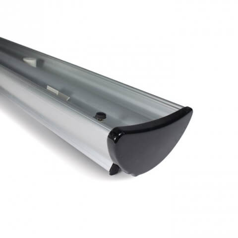 Barracuda roller banner - bottom of base view