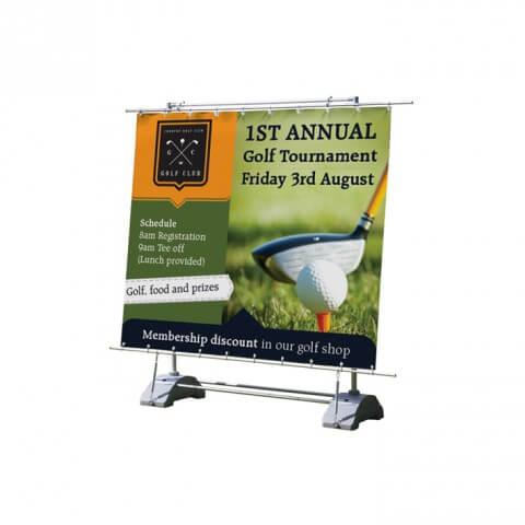 Horizon Outdoor Banner - Graphic Example - Golf Tournament