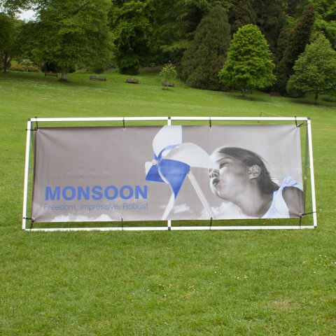 Monsoon outdoor banner- graphic example - monsoon
