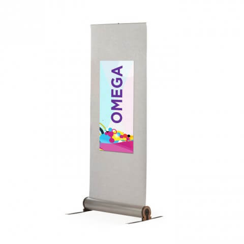 fabric roller banner stand