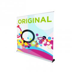 Roller banner in 7 widths - Original 2 roller banner - Exhibition display