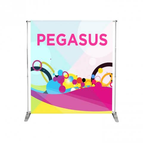 Pegasus variable width banner