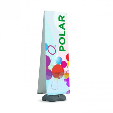 polar outdoor banner - full view