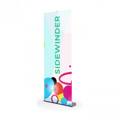 Classic roller banner - Sidewinder roller banner - exhibition display