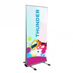 Thunder outdoor banner - full view