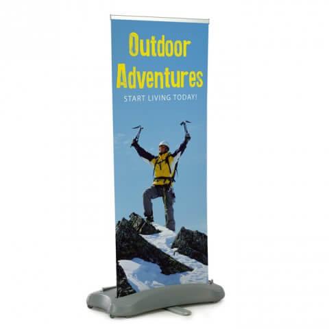 Typhoon outdoor banner - graphic example - outdoor adventures