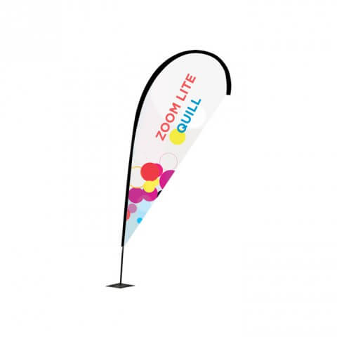 Zoom flag Quill - outdoor