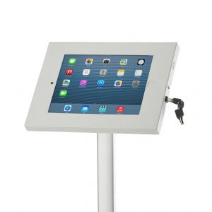 iPad holder - anti theft telescopic ipad holder