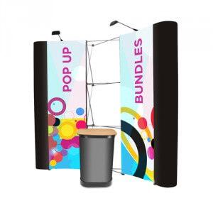 Pop-up display stand - pop-up bundle