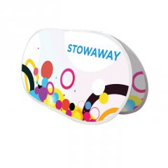 Outdoor display - stowaway display