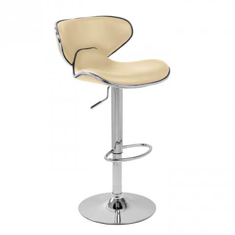 Carcaso bar stool - Cream colour - Furniture, bags etc