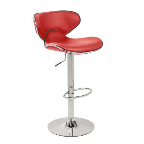 Carcaso bar stool - Red colour - Furniture, bags etc