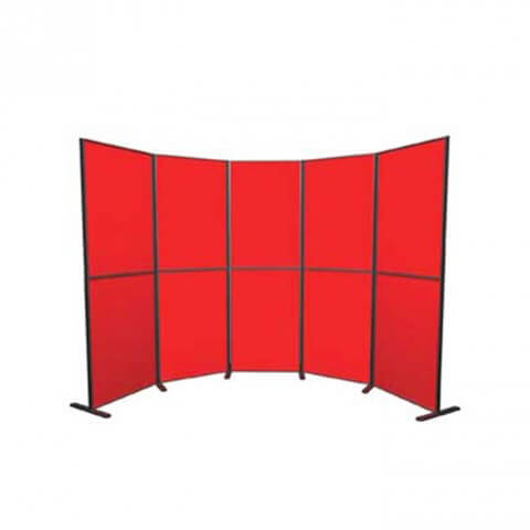 10 Panel and Pole kit - simple versatile display