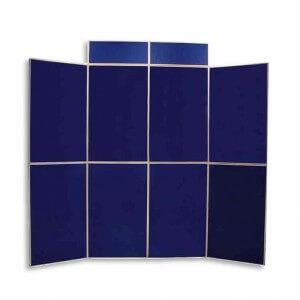 Folding panel display - Fresco exhibition displays