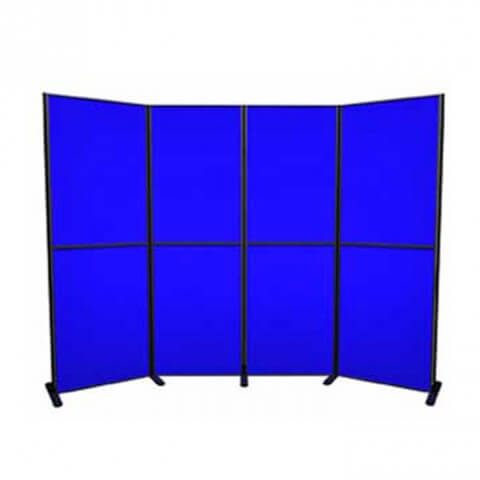 8 panel and pole kit - simple and versatile