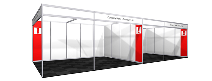 Exhibition Shell Scheme : All about shell scheme stands fresco portable