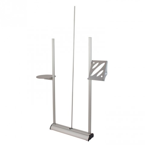 Linear banner accessories stand - accessories