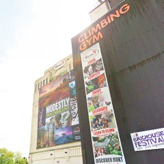 Climbing banners -Building wraps
