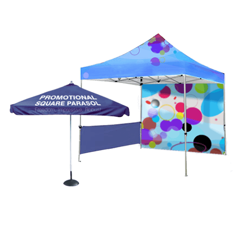 Promotional Parasols and Tents