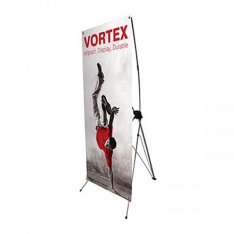 Vortex banner system