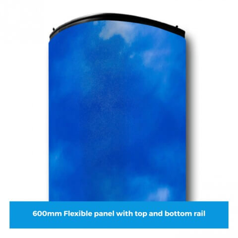 Curvorama 600mm wide flexible panel