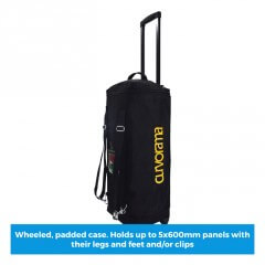 Curvorama 600mm wheeled case