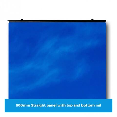 Curvorama 800mm straight panel