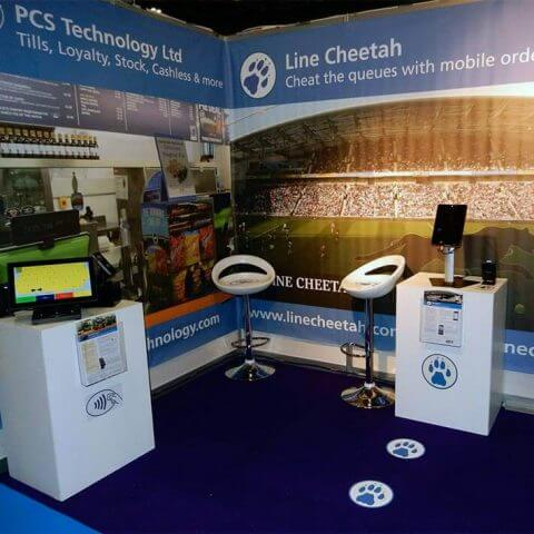 PCS Technology chooses Fresco's VBanner for their exhibitions