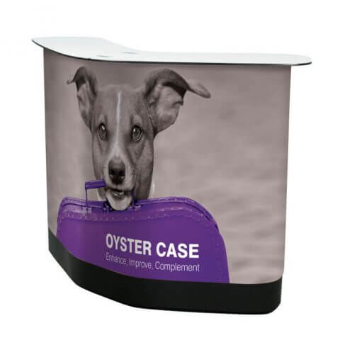 Oyster case with dog wrap