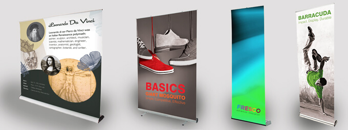 Portable Exhibition Banners : Roller banners explained. the worlds favourite portable display