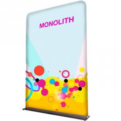 Monolith fabric display - Formulate Monolith fabric display