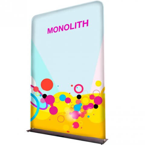 Monolith fabric display - Formulate Monolith fabric display