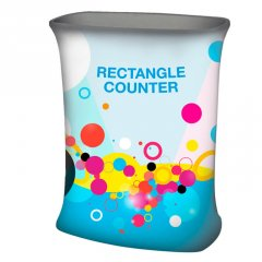Rectangle fabric counter - Formulate Rectangle fabric counter display