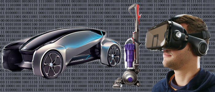 Invention, Dyson, virtual reality