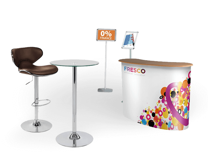 Exhibition Stand Extras : A little something extra fresco portable exhibition