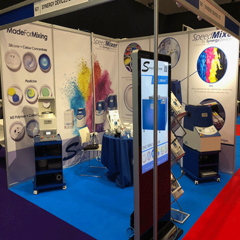 Shellgraphic panels for Synergy at an exhibition