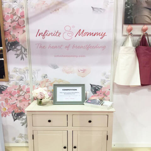 ShellGraphic used by Infinite Mommy at a trade show