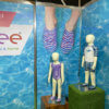ShellGraphic used by Slipfree Shoes at a trade show