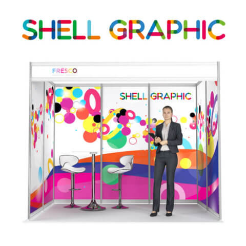 ShellGraphic 3D Illustration of a 3x2 shell scheme
