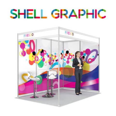ShellGraphic 3D Illustration of a 3x2 shell scheme