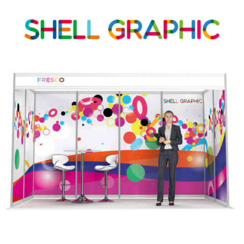 ShellGraphic 3D Illustration of a 4x2 shell scheme