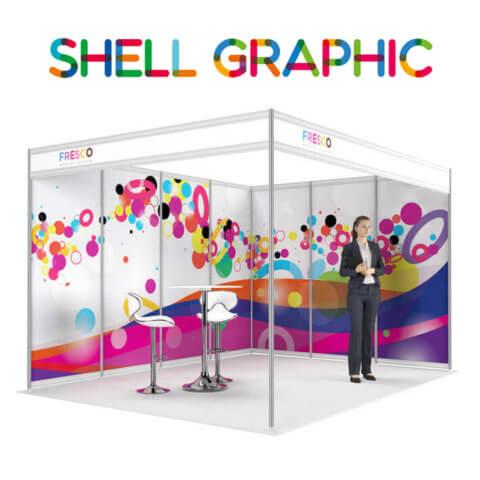 ShellGraphic 3D Illustration of a 4x3 shell scheme