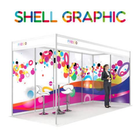 ShellGraphic 3D Illustration of a 5x2 shell scheme