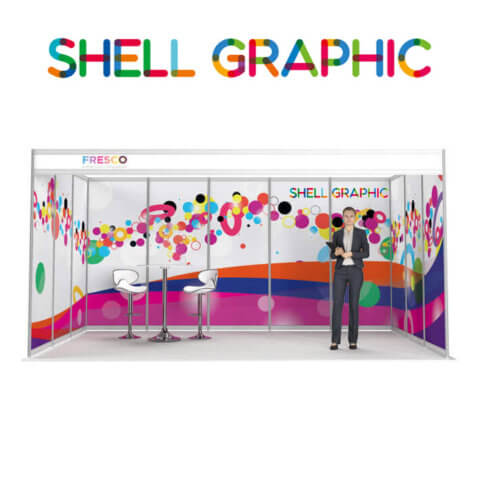 ShellGraphic 3D Illustration of a 5x3 shell scheme