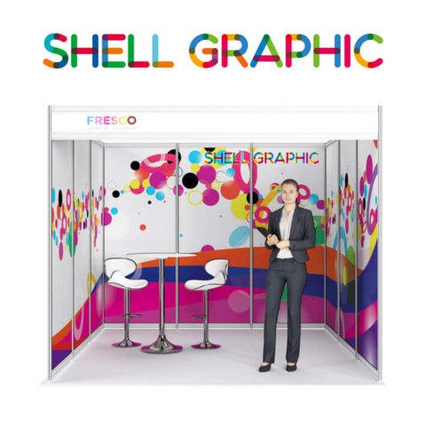 ShellGraphic 3D Illustration of a 3x3 shell scheme