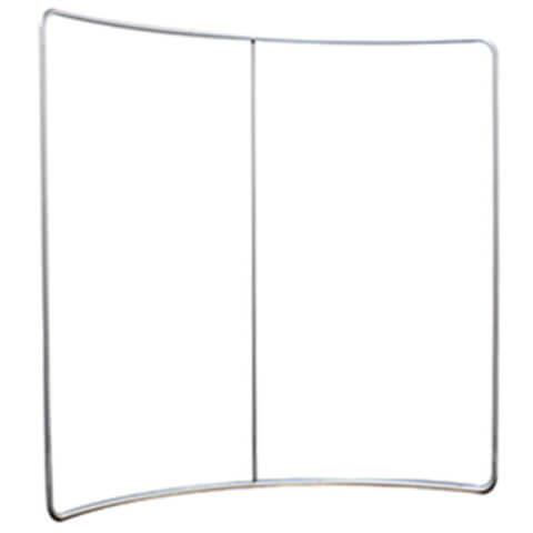 Formulate Curve Frame without fitted fabric graphic