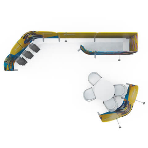 Modulate™ setup example overhead