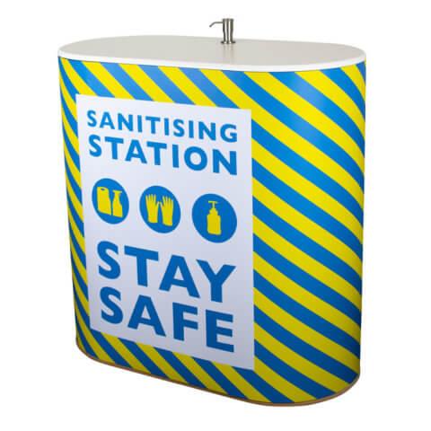 Sanitiser Dispenser Counter