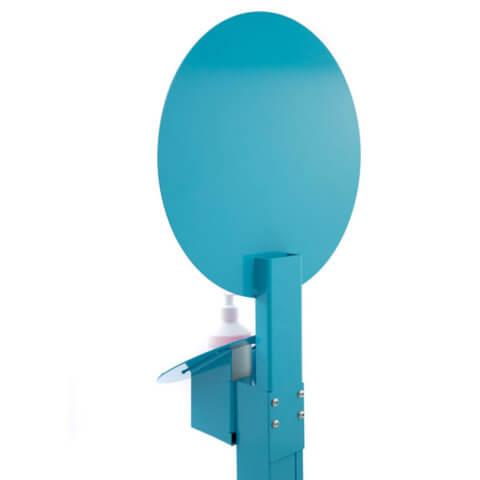 image of rear Kids Multi-Height Sanitising Unit