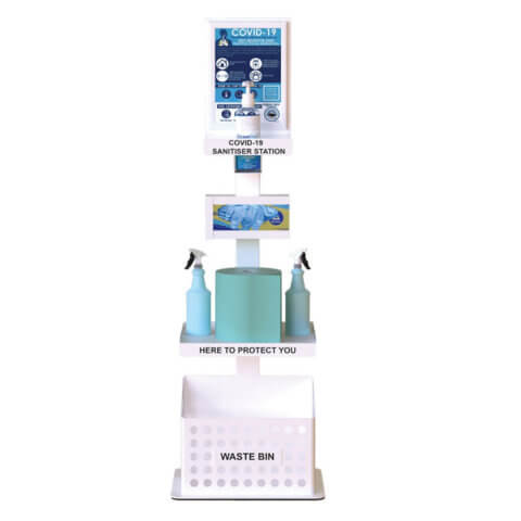 Premium Sanitiser and Surface Cleaning Station